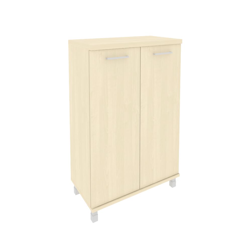 Шкаф средний широкий (2 средние двери ЛДСП) KST-2.3 клен