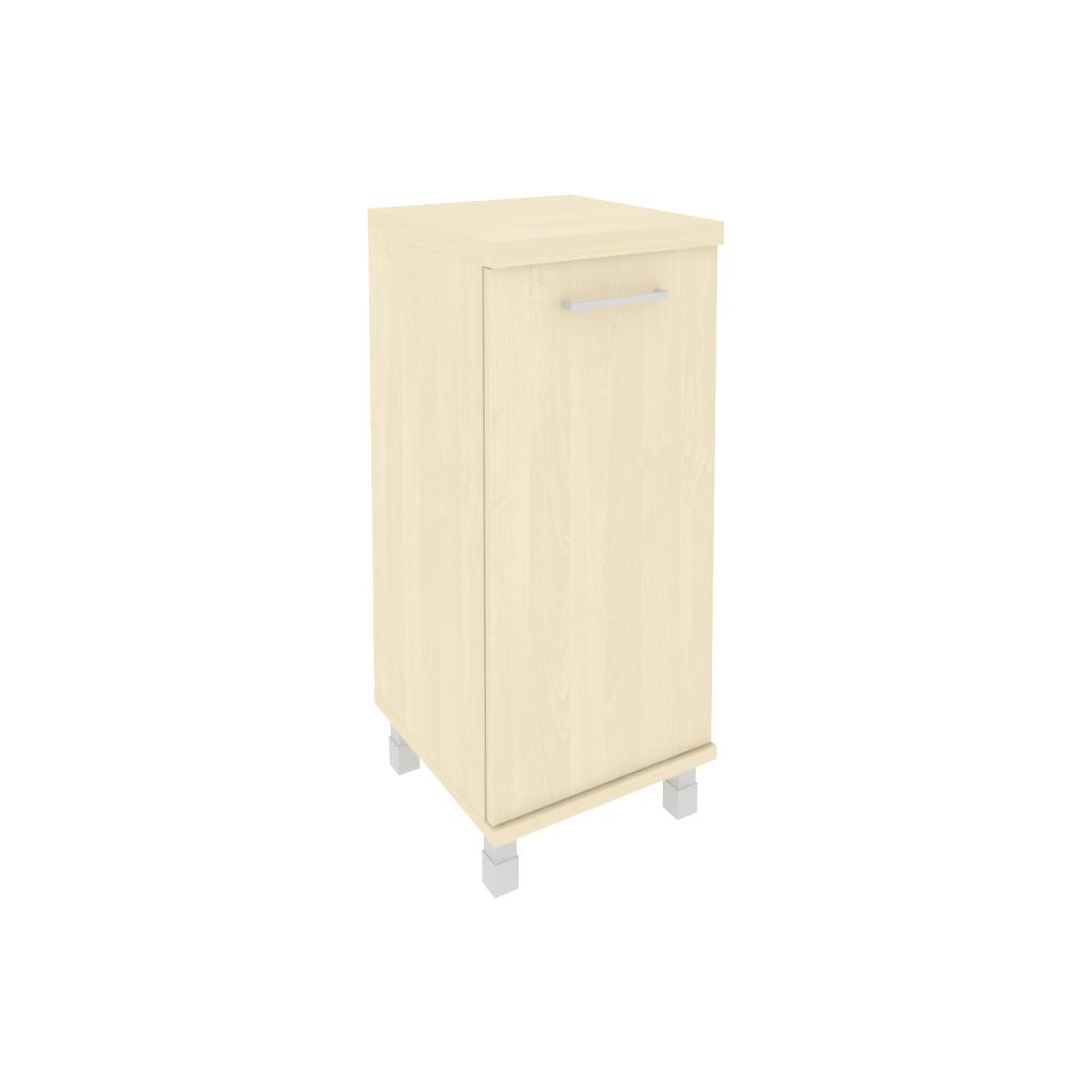 Шкаф низкий узкий левый (1 низкая дверь ЛДСП) KSU-3.1 клен