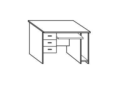 Стол компьютерный СФ238 СФ218
