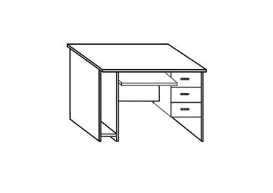 Стол компьютерный СФ248 СФ228