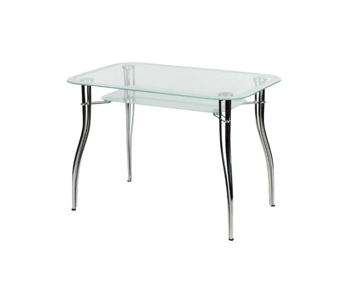 Стеклянный обеденный стол «Византия-2»