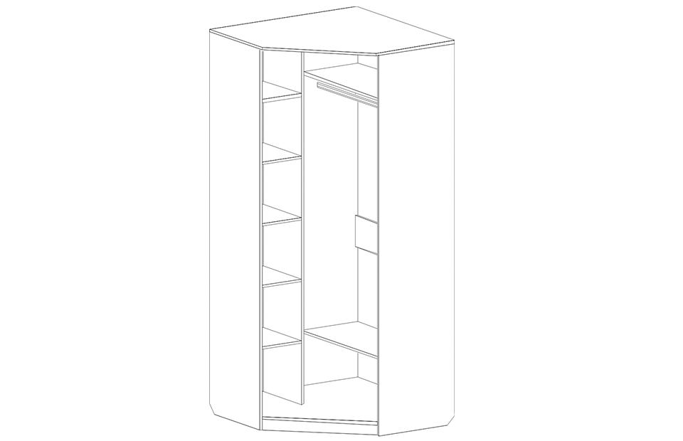 Шкаф угловой Женева