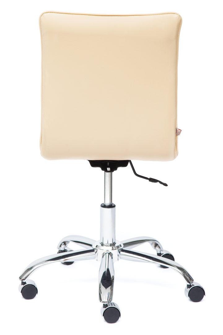 Кресло офисное «Зеро» (Zero) Иск. кожа, бежевый