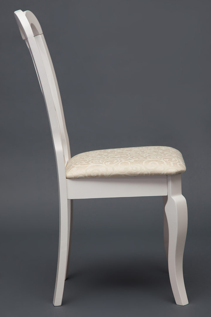 Стул с мягким сиденьем Афродита (Aphrodite) (Белый)