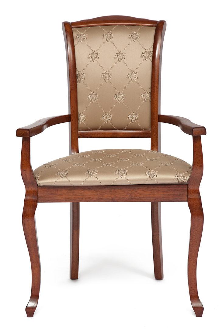 Кресло с мягким сиденьем и спинкой Женева (Geneva) (Тобакко)