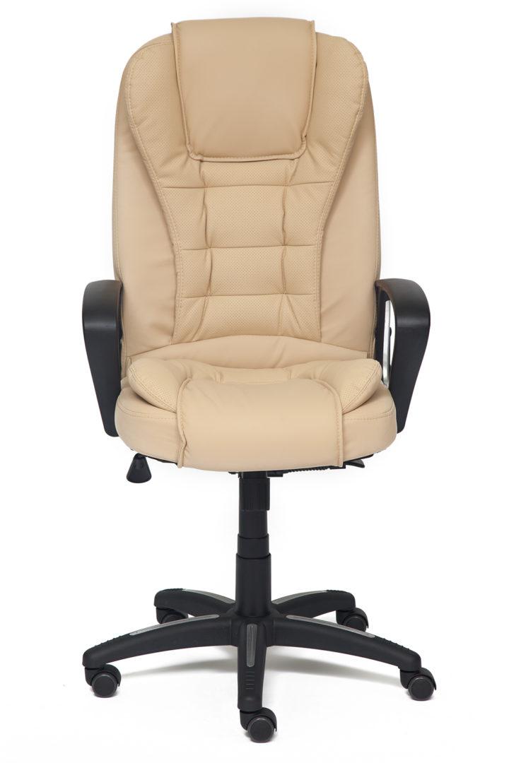 Кресло офисное TetChair Барон (BARON) (Искусств. коричн. перфор. кожа 2 TONE)