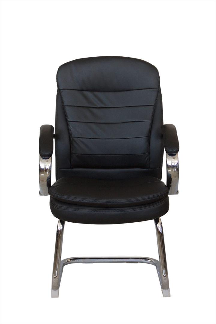 Конференц-кресло для посетителей Riva Chair 9024-4 черный