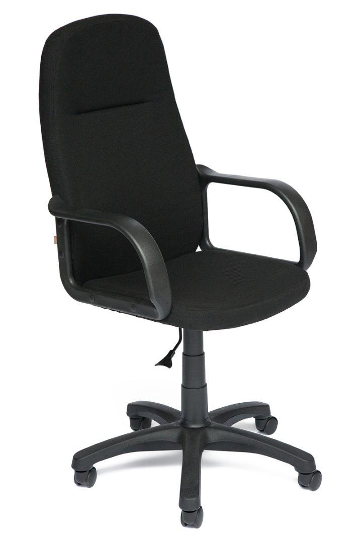 Кресло офисное LEADER ткань, черный, 2603