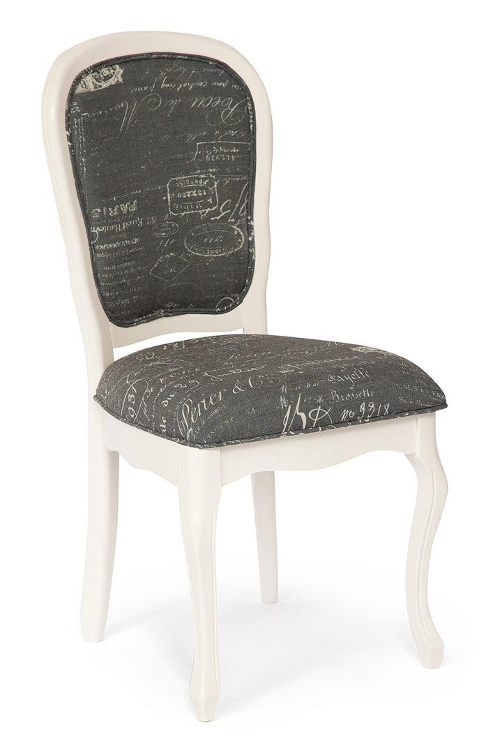 Стул с мягким сиденьем и спинкой «Esmee» (EE-SC) (Французское письмо №F788-2)
