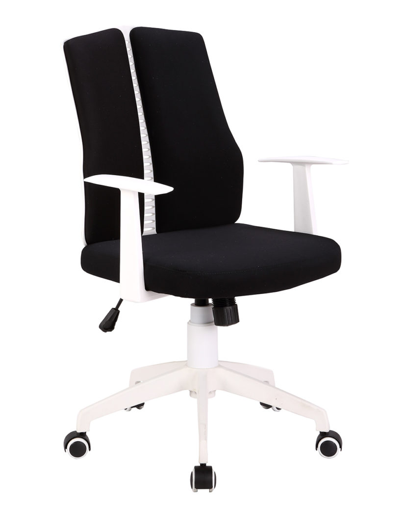 Кресло офисное Lite (black) (Чёрная ткань)