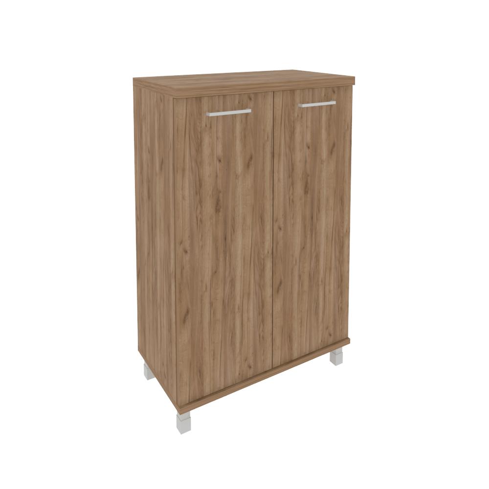 Шкаф средний широкий (2 средние двери ЛДСП) KST-2.3 Дуб Табак