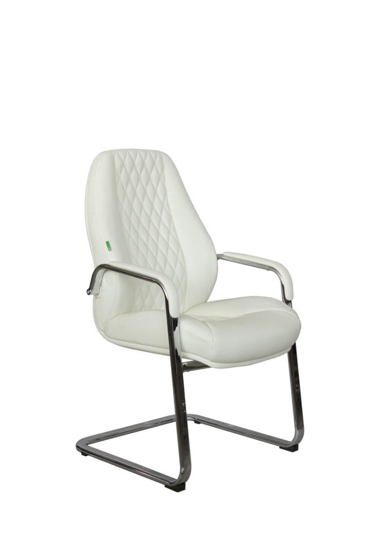 Кресла для посетителей F385 белый