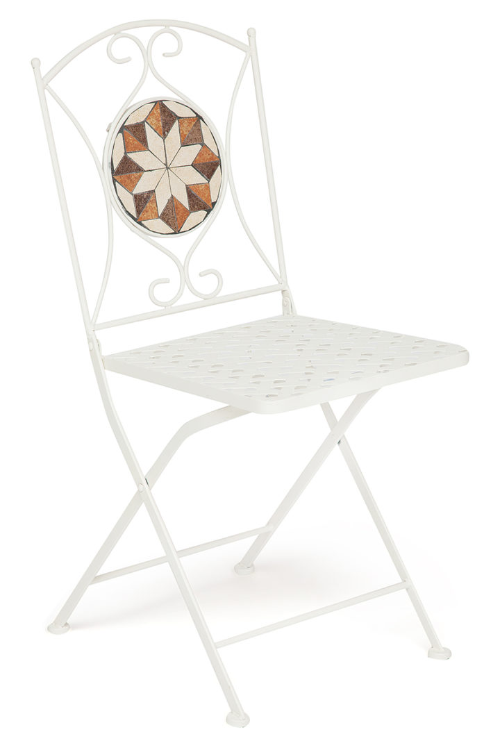 Кованый стул Secret De Maison «Джулия» (Julia) (плитка «Канада»)