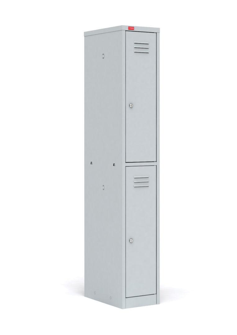 Односекционный металлический шкаф для одежды ШРМ – 12