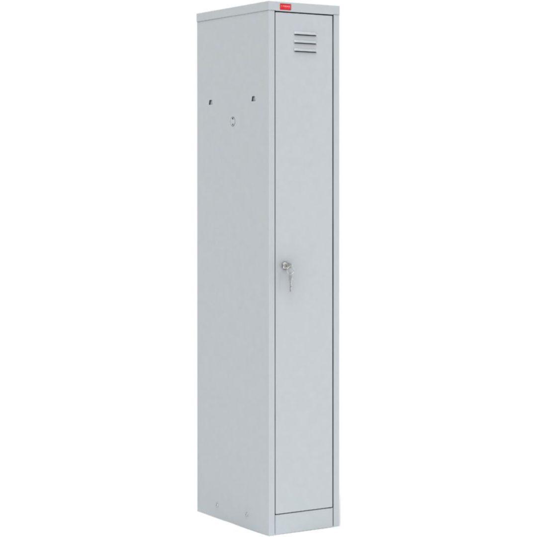 Односекционный металлический шкаф для одежды ШРМ — 11/400