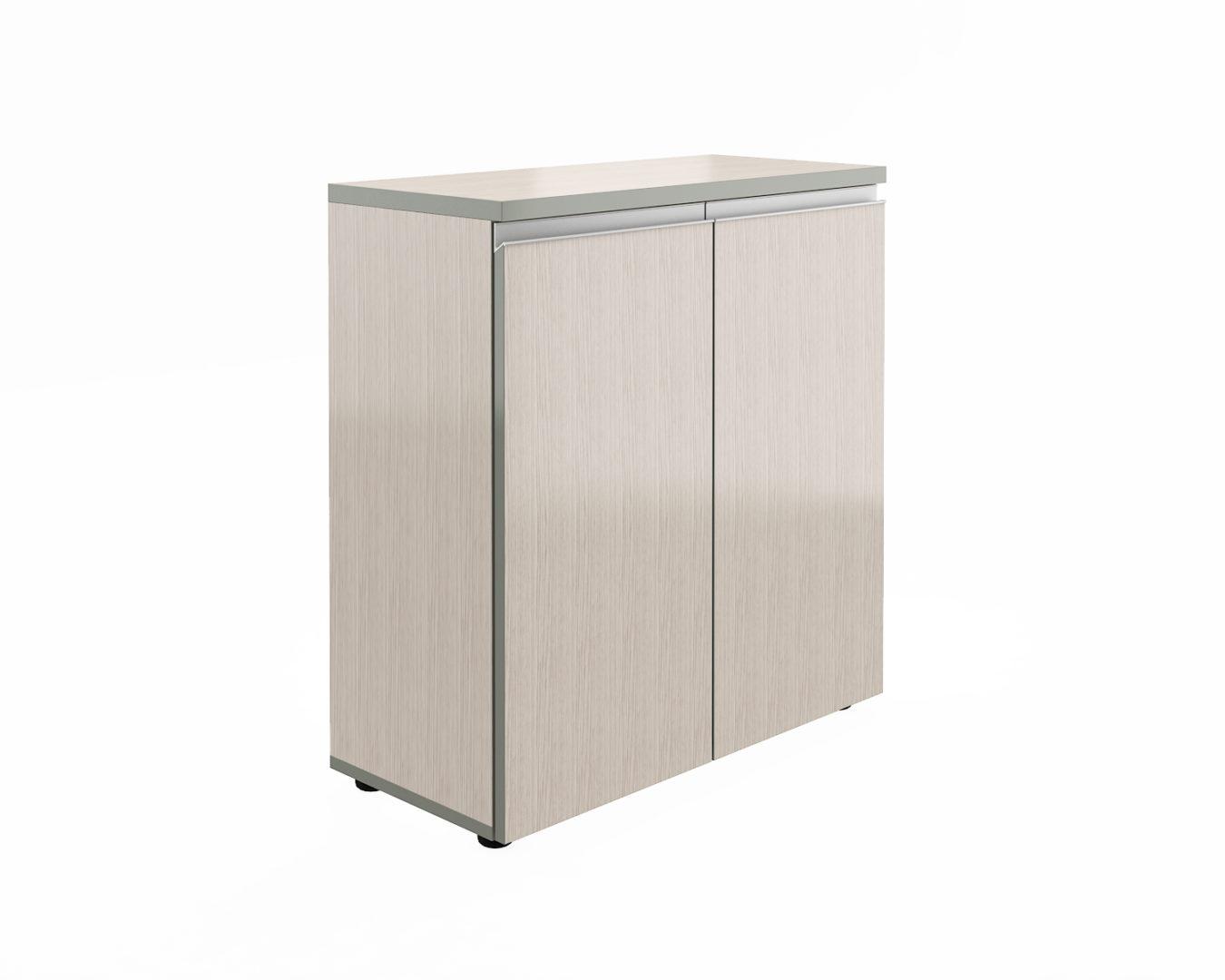Шкаф широкий низкий закрытый  V-2.0+4.0