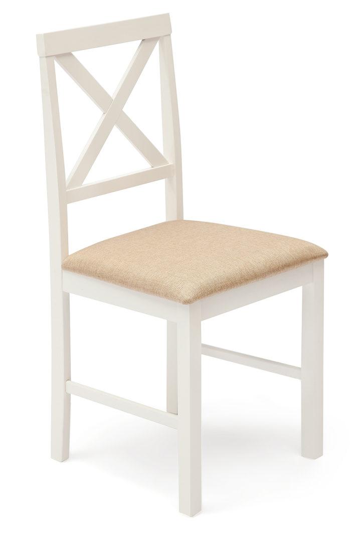 Обеденный комплект белый Хадсон (Hudson) (стол + 4 стула) (Белый)