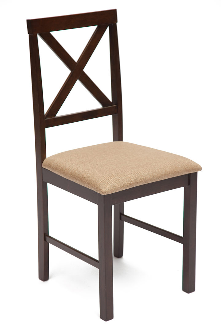 Обеденный комплект Хадсон (Hudson) (стол + 4 стула) (Cappuccino (тёмный орех))