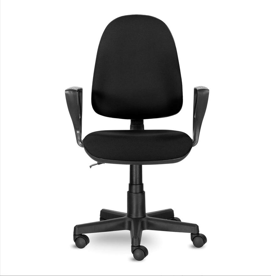 Кресло BRABIX Prestige Ergo MG-311, регулируемая эргономичная спинка, ткань, черное
