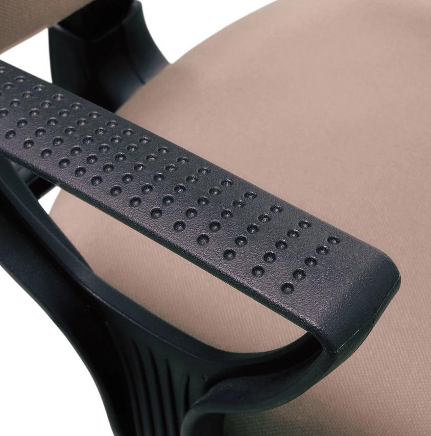 Кресло BRABIX Prestige Ergo MG-311, регулируемая эргономичная спинка, ткань, бежевое