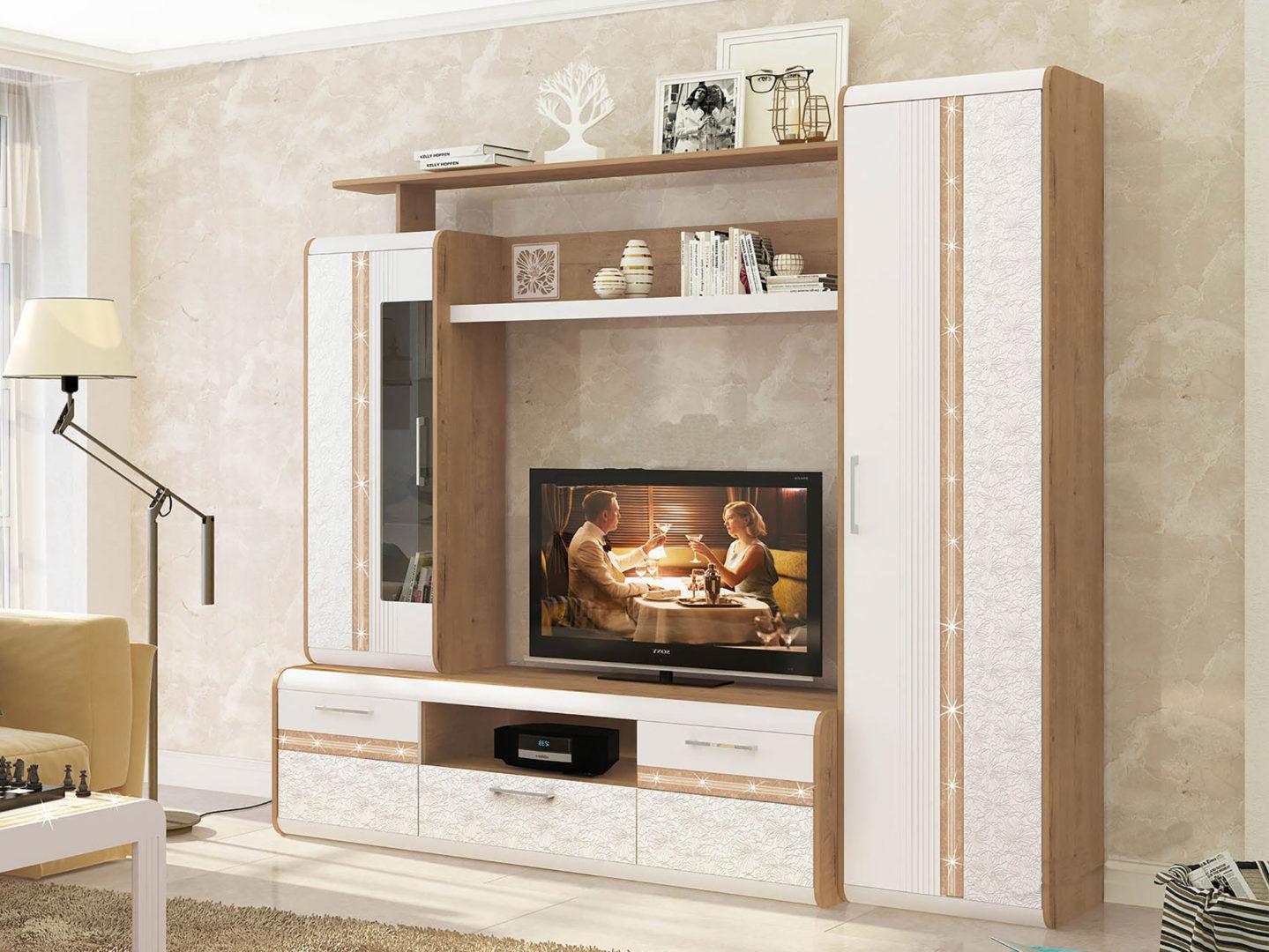 Набор мебели для гостиной Адель 3 (ширина 236 см)