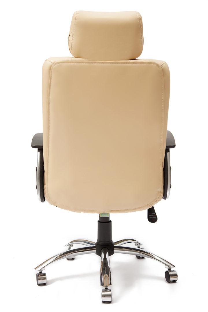 Кресло «Оксфорд» (OXFORD) (Искусственная бежевая кож+искусственная перфорированная бежевая кожа)
