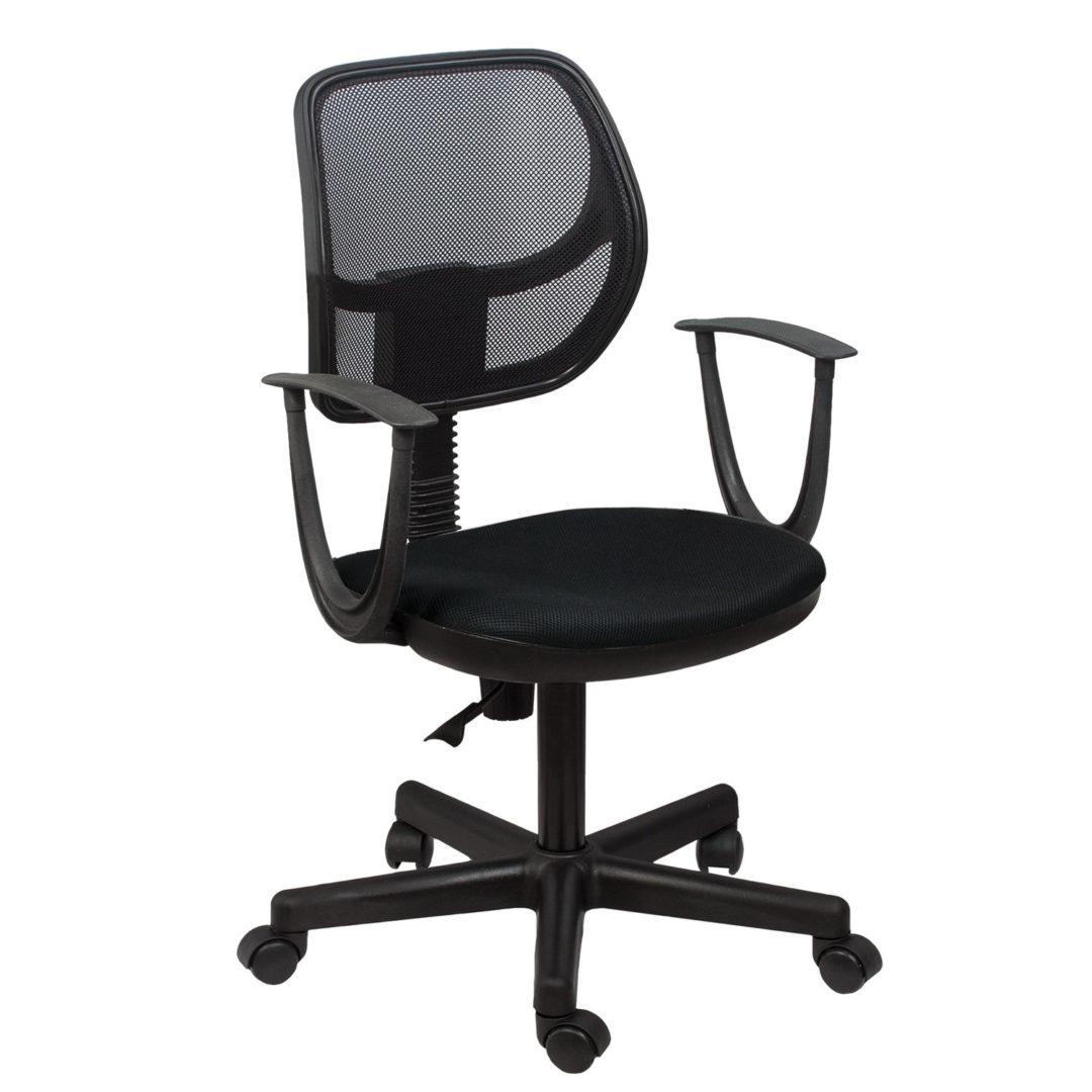 """Кресло BRABIX """"Flip MG-305"""", до 80 кг, с подлокотниками, черное TW, 531417"""