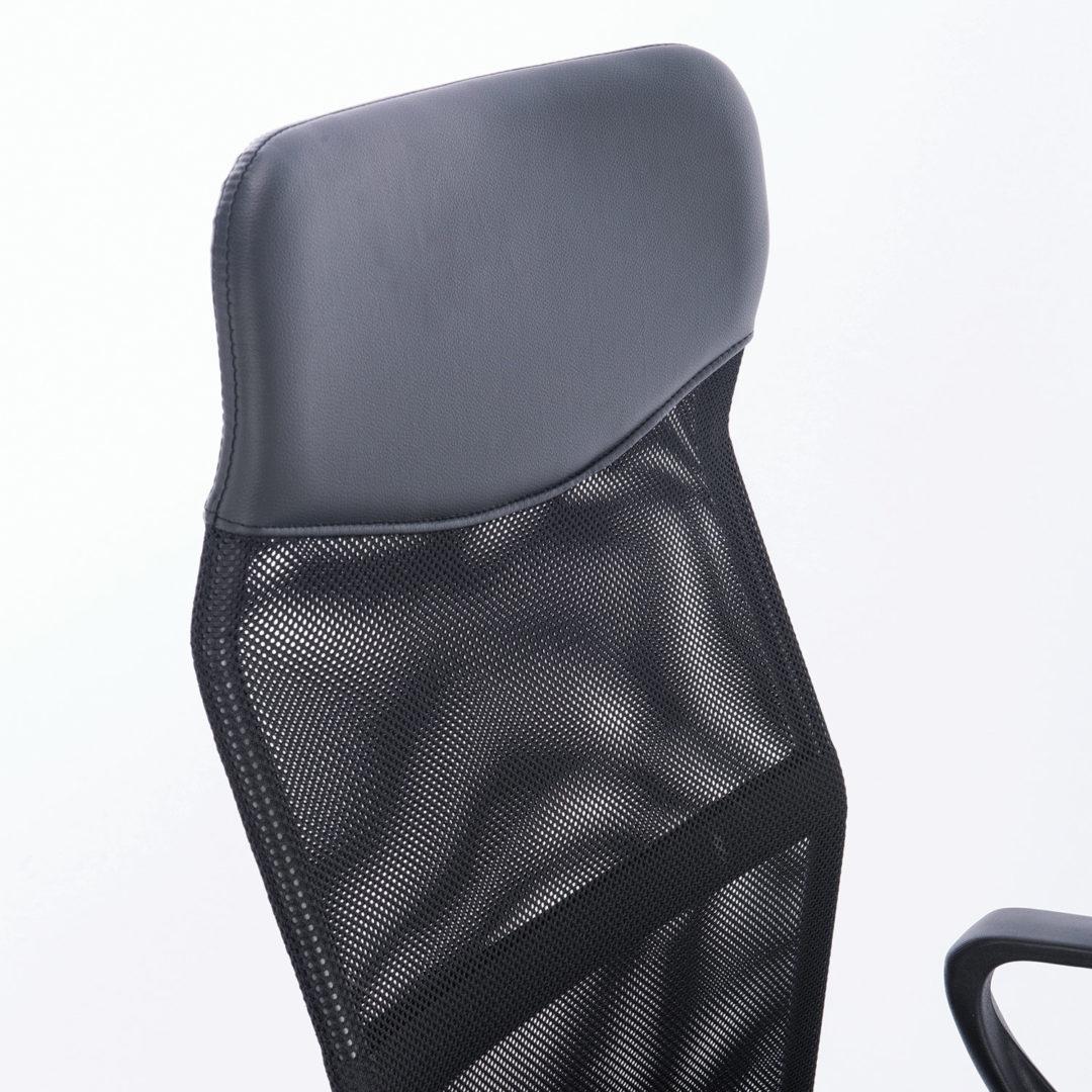 """Кресло BRABIX """"Tender MG-330"""", с подлокотниками, хром, черное"""
