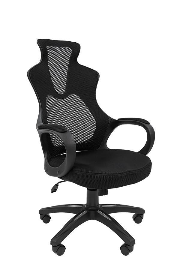 Кресло офисное РК 210 Ткань TW-черный