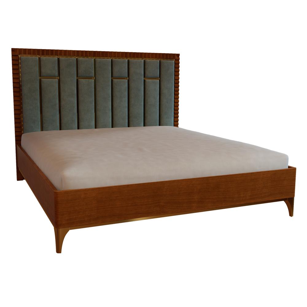 Кровать, Ш1600, спальня Sienna