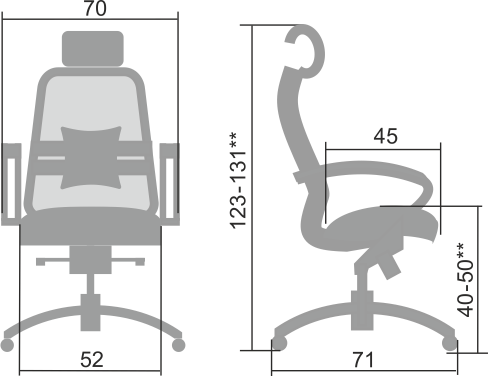 Кресло Samurai SAMURAI S-2.03