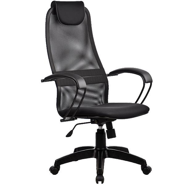 Кресло  Галакси Лайт BK-8 Pl черный