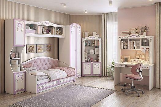 Модульная детская мебель Акварель