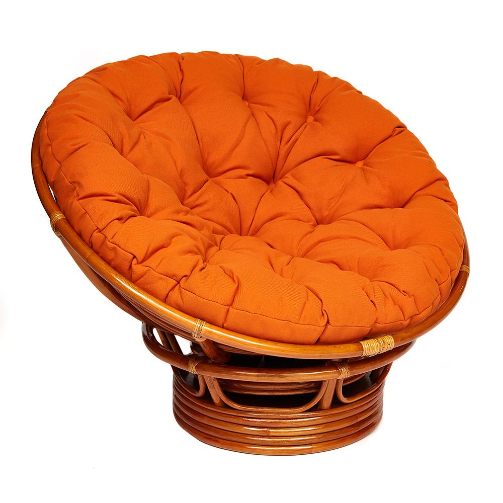 """Кресло """"PAPASAN"""" 23/01 W / + подушка, оранжевый"""