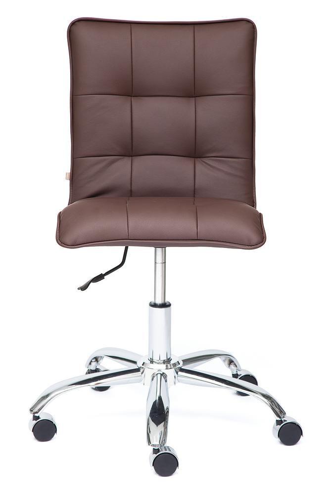 Кресло ZERO кож/зам, коричневый, 36-36