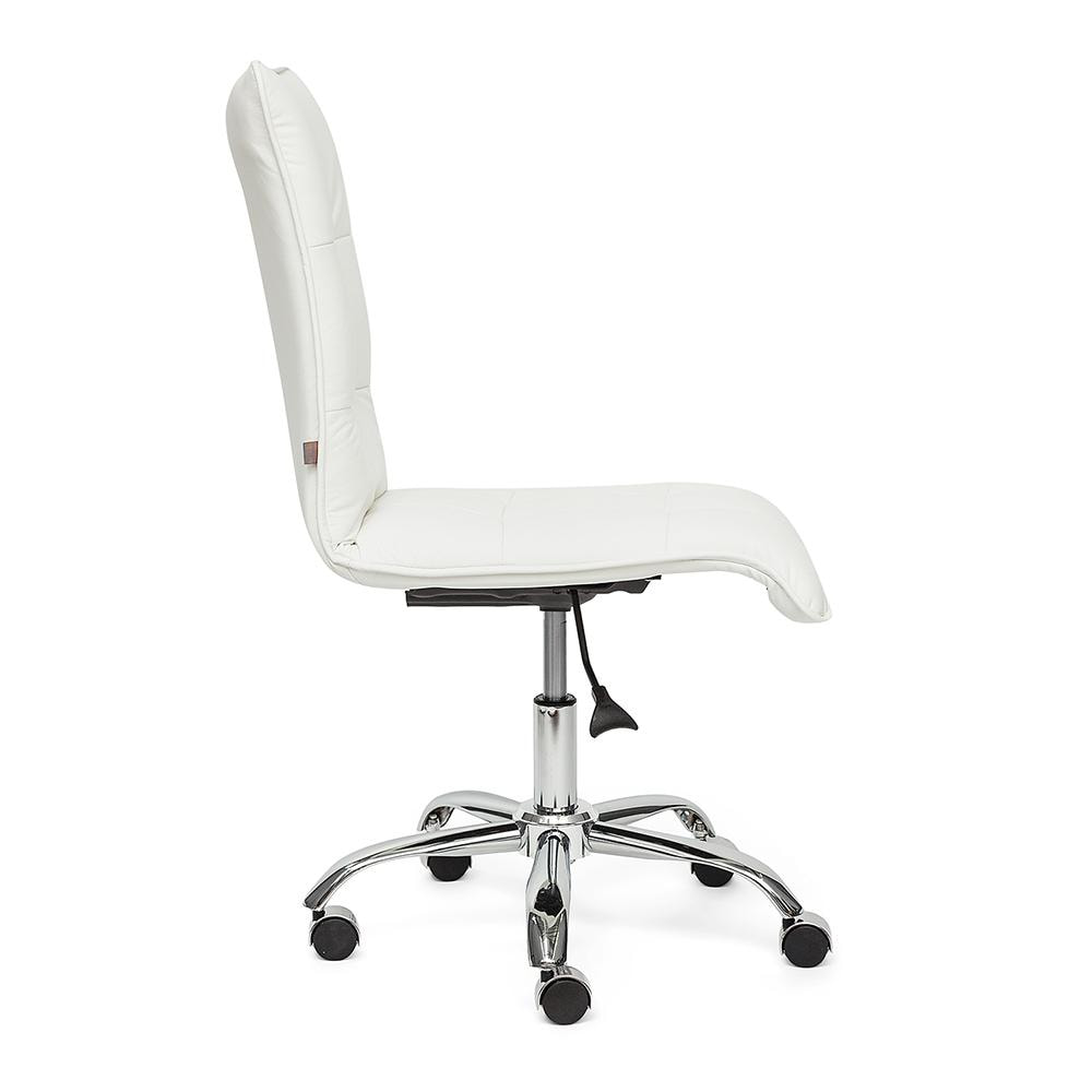 Кресло офисное ZERO кож/зам, белый, 36-01
