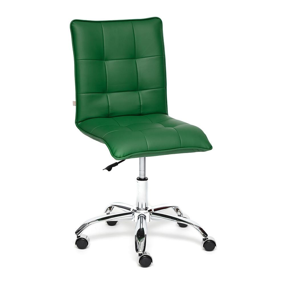 Кресло ZERO кож/зам, зеленый, 36-001