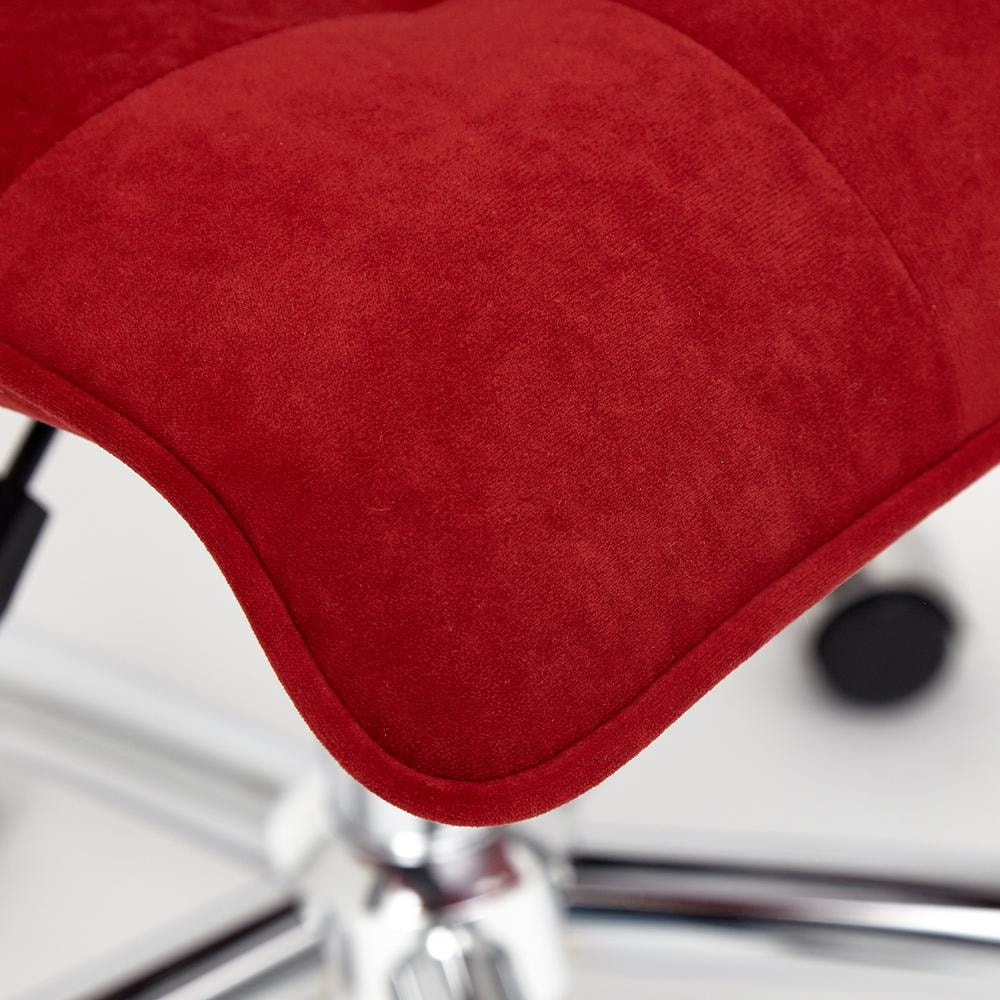 Кресло ZERO флок , бордовый, 10