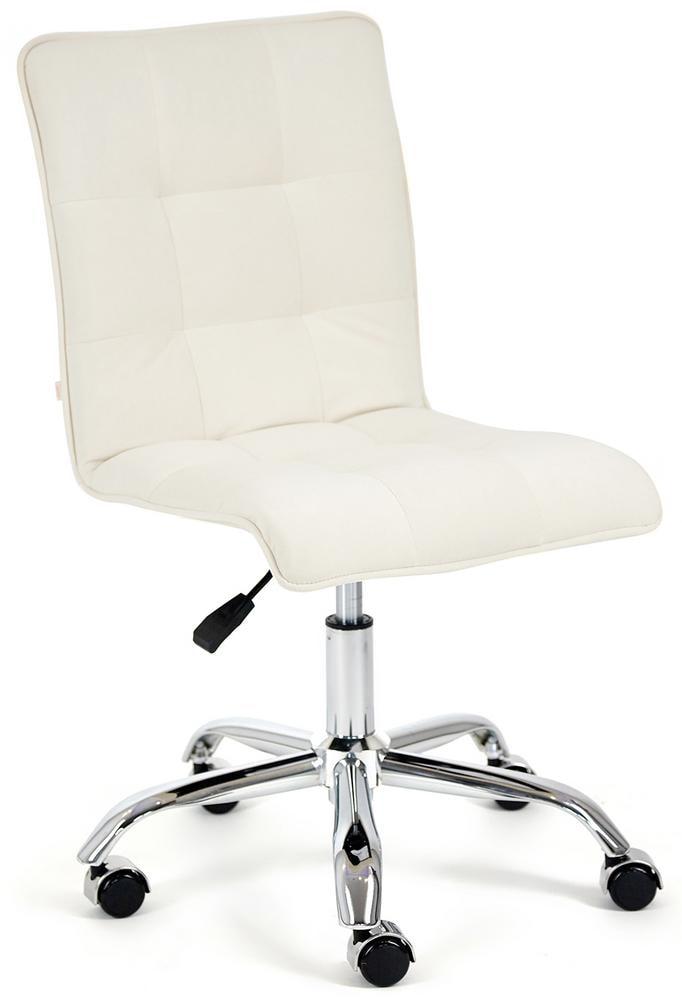 Кресло ZERO флок , молочный, 4