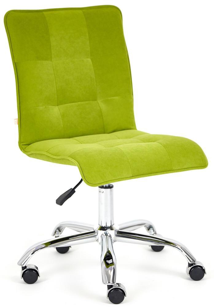 Кресло офисное ZERO флок, олива, 23