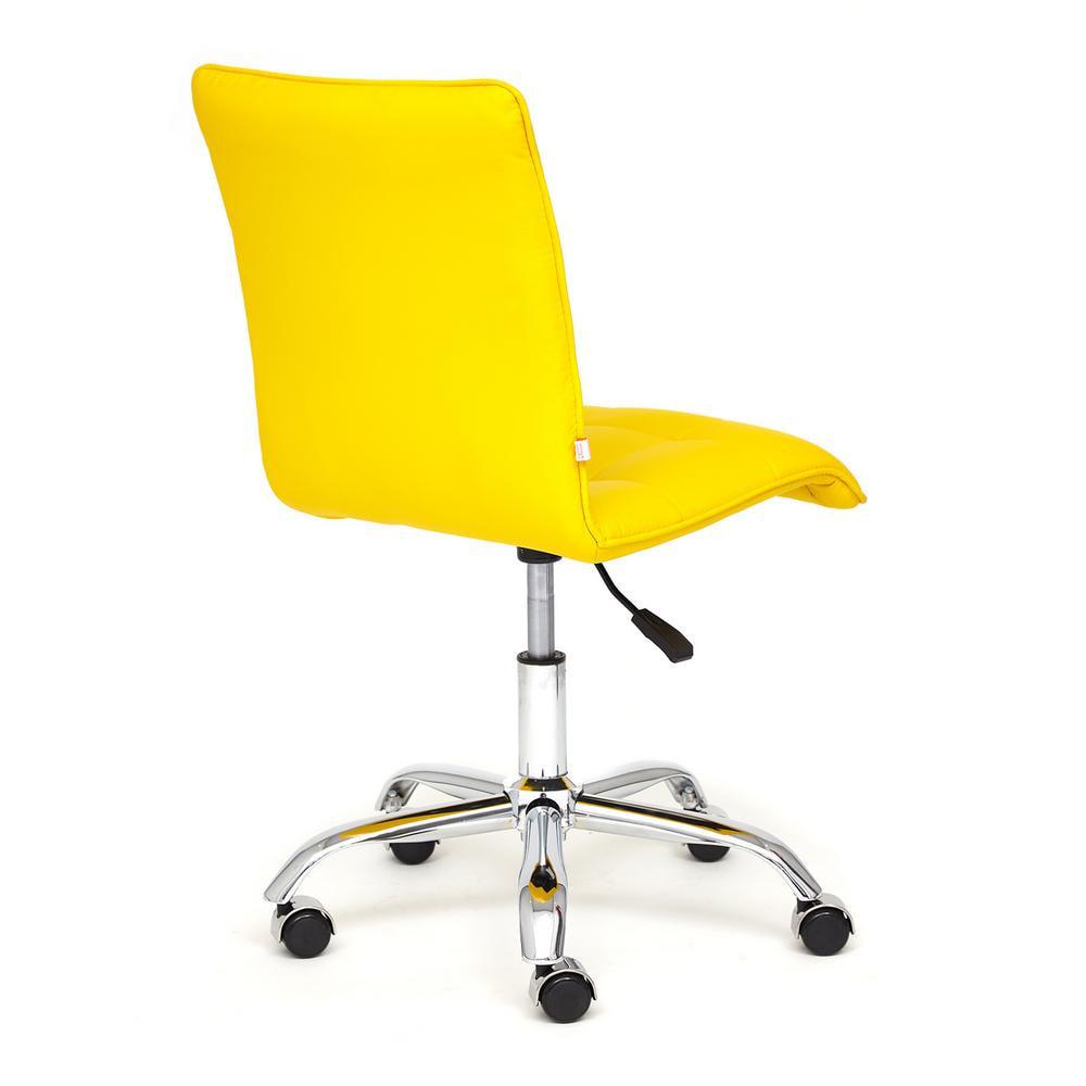 Кресло ZERO кож/зам, желтый, 36-14