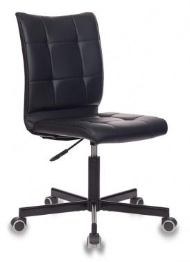 Офисное кресло Бюрократ CH-330M черный Leather Black искусственная кожа крестовина металл черный