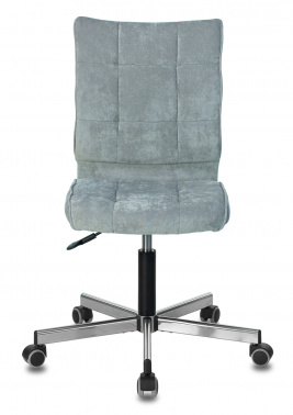 Офисное кресло Бюрократ CH-330M серо-голубой Light-28 крестовина металл хром