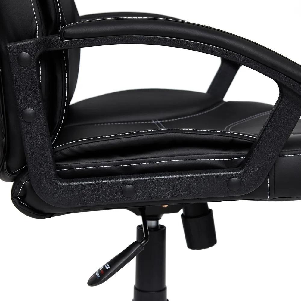 Офисное кресло TWISTER кож/зам, черный, 36-6