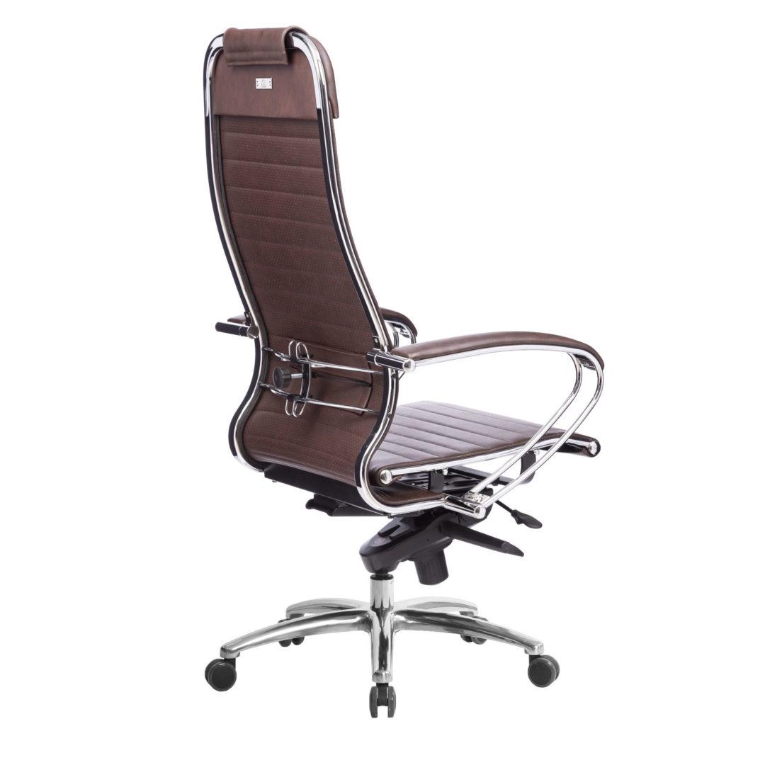 Кресло руководителя Samurai K-1.04, коричневый