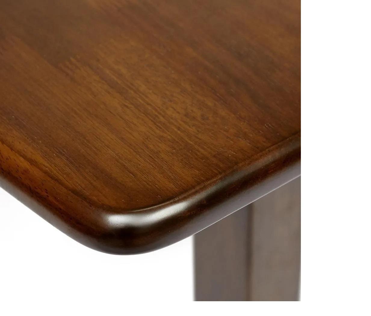 Обеденный стол TEMPIO (mod. F-SR3220VD W4) дерево гевея/мдф, 52.5×80(80×105)x76см, walnut (орех) (13480)