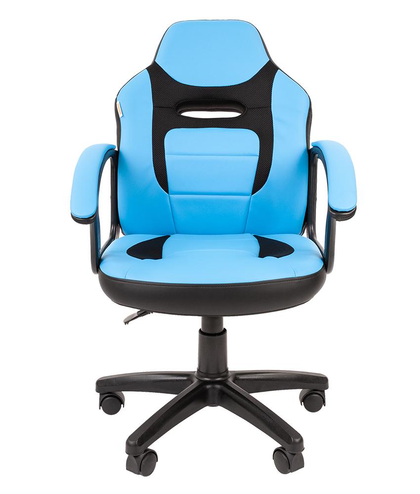 Детское компьютерное кресло CHAIRMAN KIDS 110, синий