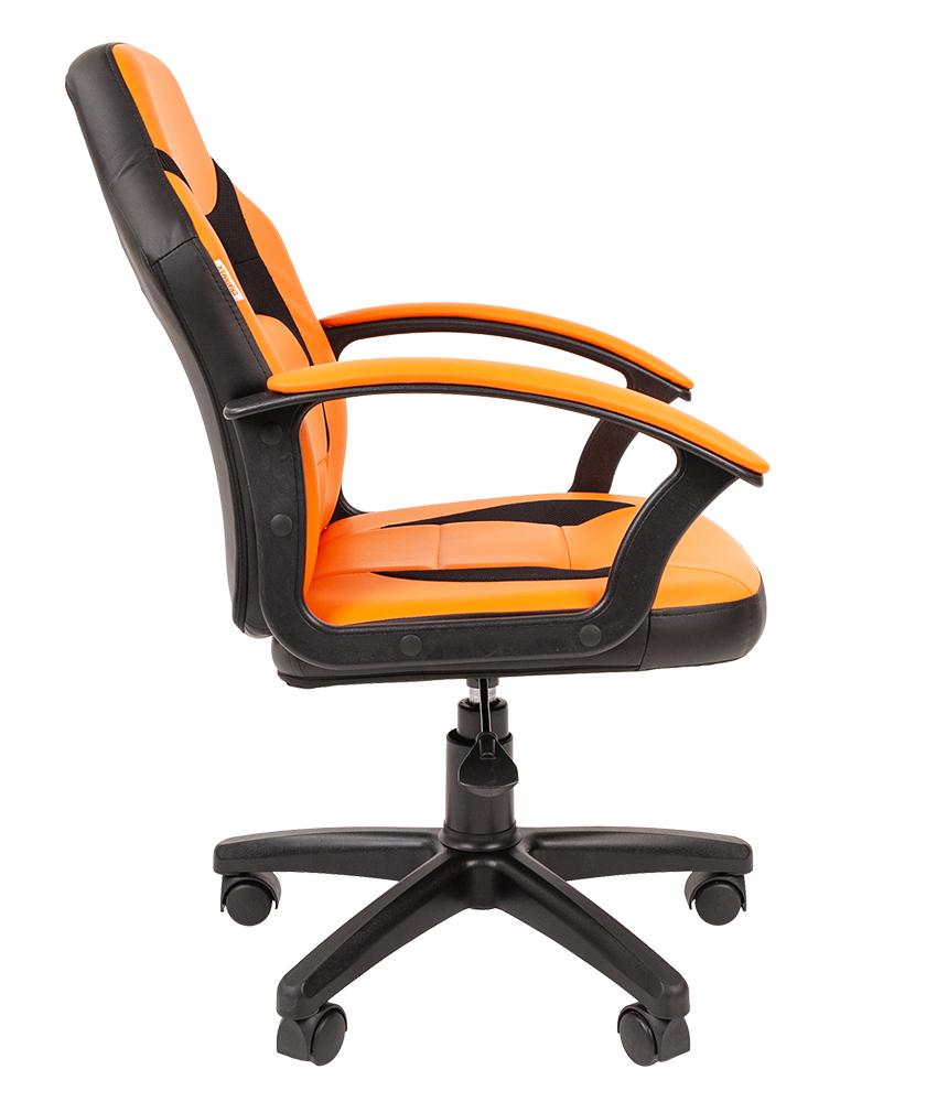 Детское компьютерное кресло CHAIRMAN KIDS 110, оранжевый