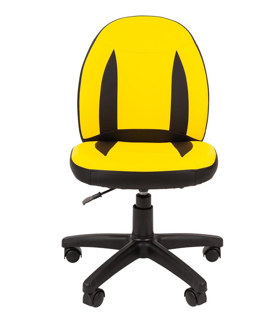 Детское компьютерное кресло CHAIRMAN KIDS 122 BLACK, желтый