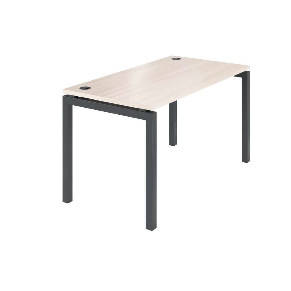 Стол на металлокаркасе АМ-003 1400x730x760 Ясень шимо